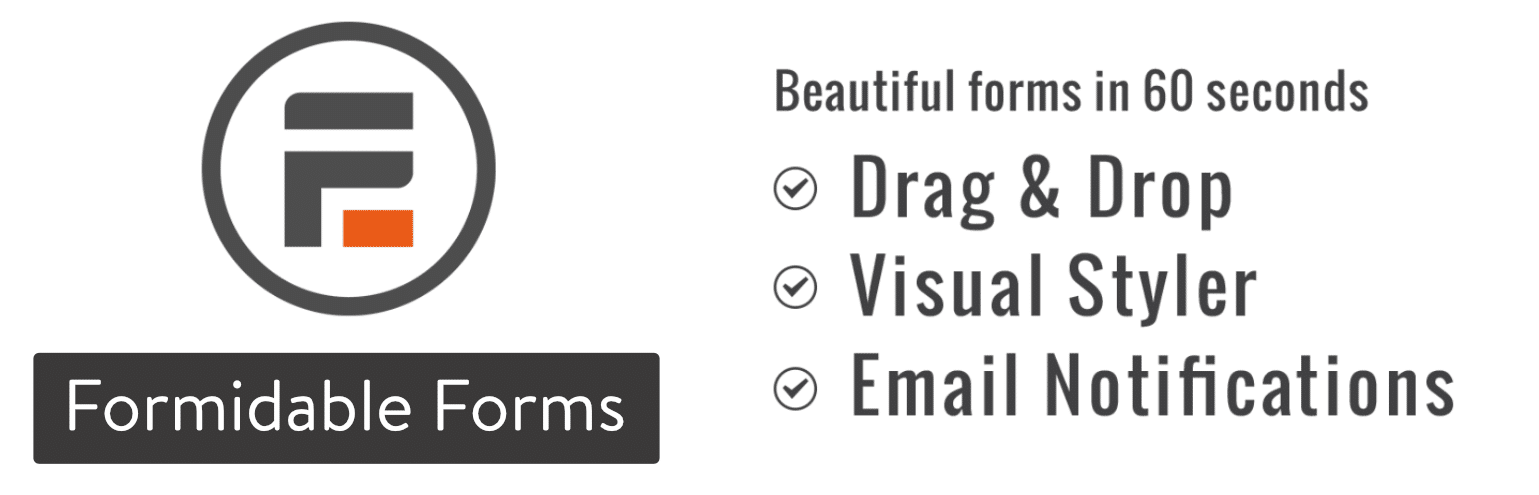 Formidable Forms contact form plugin