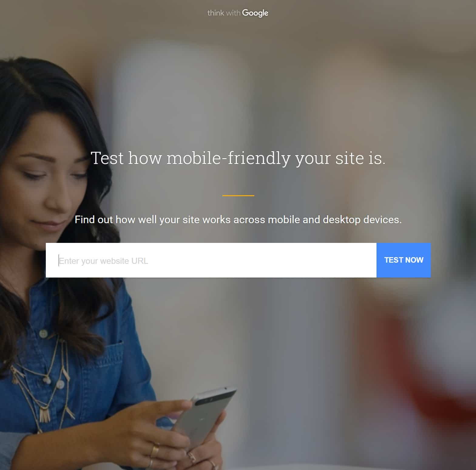google mobile website speed test tool