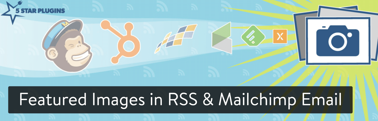 Featured Images in RSS & Mailchimp Email WordPress plugin