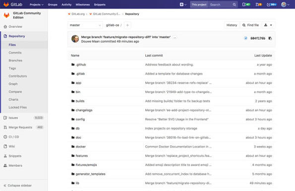 GitLab is Github alternative self hosted open source software