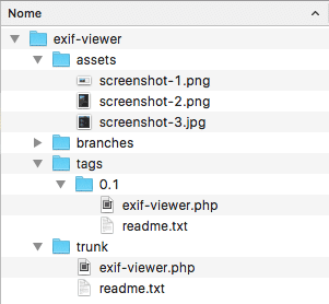 EXIF Viewer structure