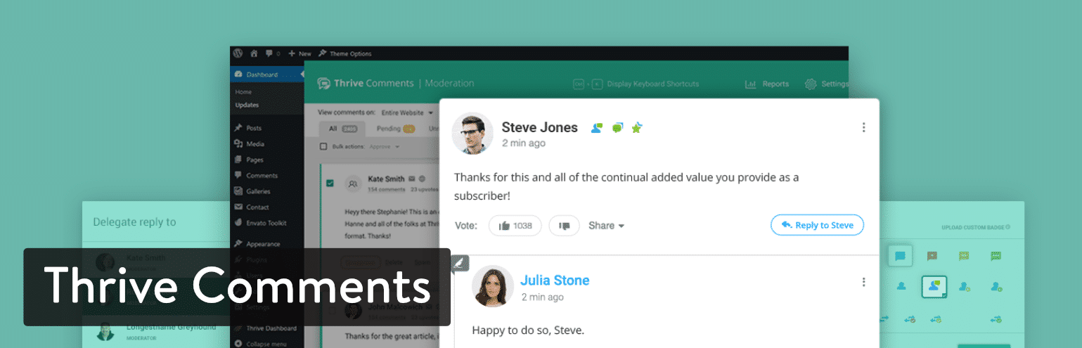 WordPress Thrive Comments plugin