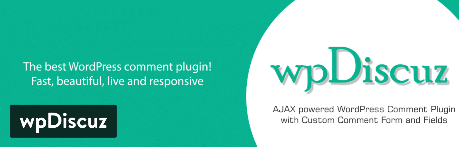 wpDiscuz WordPress comment plugin