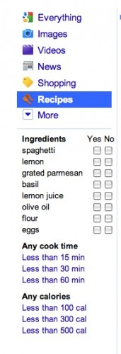 Food Bloggers Take Note – Google Rolls Out Recipe View