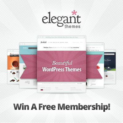 Win An Elegant Themes Membership!
